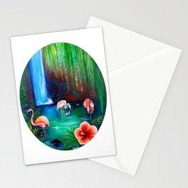 Flamingo Cove Stationery Cards