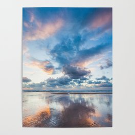 Colorful sunset 2 Poster