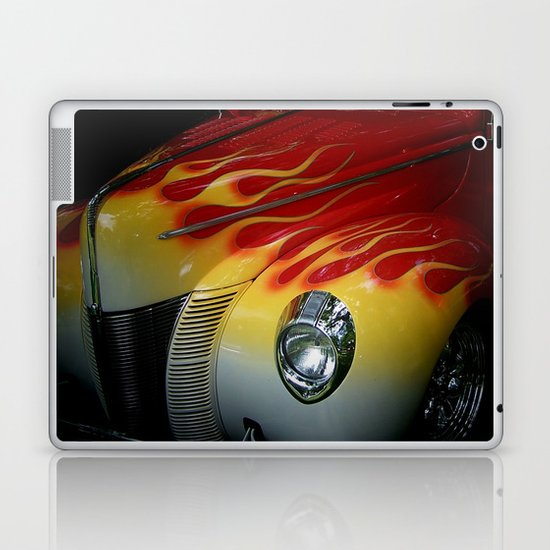 Flaming Beauty Laptop & iPad Skin