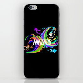 Pixel Splatoon iPhone Skin