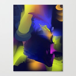 Abstract lights Canvas Print