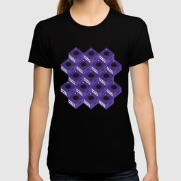 Gaming Cube Pattern T-shirt