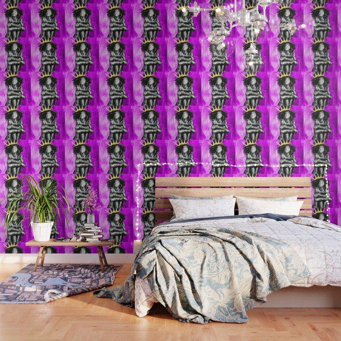 Naturally Queen IX PINK Wallpaper