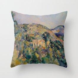 "Paul Cezanne ""View of the Domaine Saint-Joseph"" Throw Pillow"