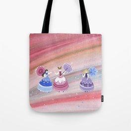 Three princesses Tote Bag