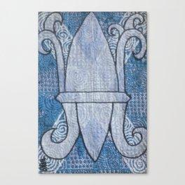 Fleur de Lis no 15 Canvas Print
