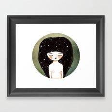 I am the Cosmos Framed Art Print