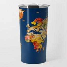 World Map 42 Travel Mug