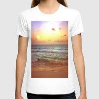 beach T-shirts featuring beacH Sunrise Sunset by WhimsyRomance&Fun