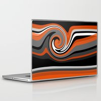 discount Laptop & iPad Skins featuring Heat wave by Jordan