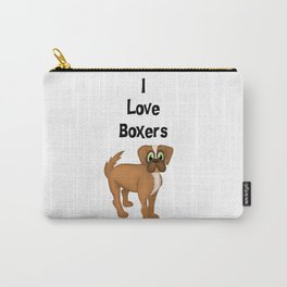 I Love Boxers Carry-All Pouch