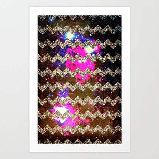 Glitter Space 2 - for iphone Art Print