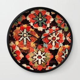 Kurdish West Persian Bag Print Wall Clock