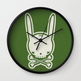 SKULL BUNNY of PIRATE - EP02 MOSS V. Wall Clock