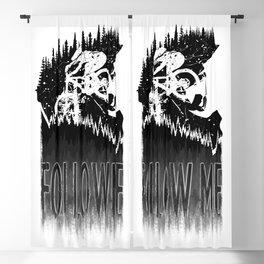 Follow Me Blackout Curtain
