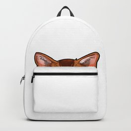 Abyssinian cat face Cats funny cute sweet gift Backpack