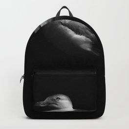 Herring Gull Monochrome Backpack