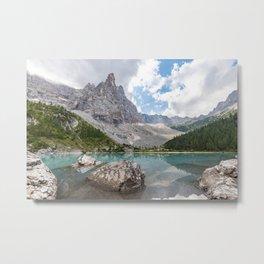 Sorapis Lake - Italy Metal Print