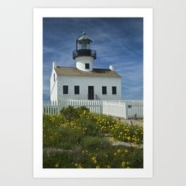 Cabrillo National Monument Lighthouse Art Print