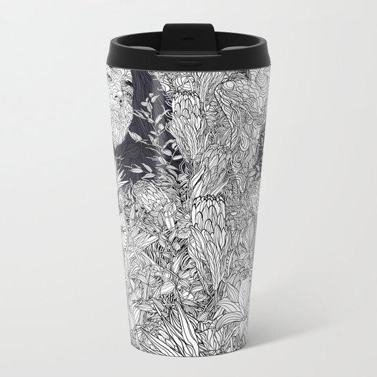 let's meet at Springtime Metal Travel Mug
