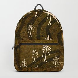 Ethnic 4 Canary Islands / Crowd in the Maze Backpack