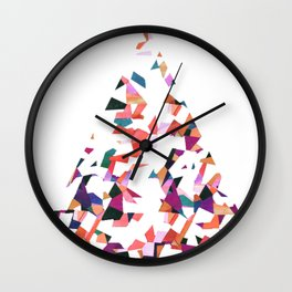 Vivaldi abstraction Wall Clock