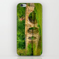 Kirkham Bridge - River Derwent  iPhone & iPod Skin
