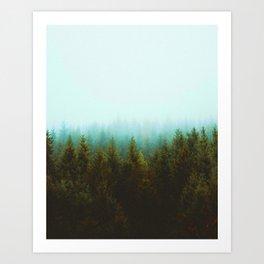 Mont Saint Rinaud Art Print