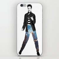 elvis iPhone & iPod Skins featuring Elvis by Maxime Zech