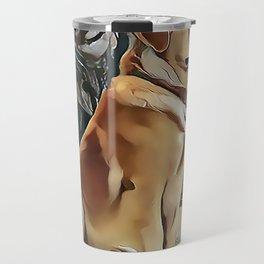 A Golden Retriever Travel Mug