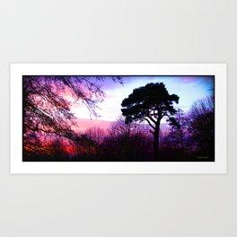 Dream in Purple Art Print