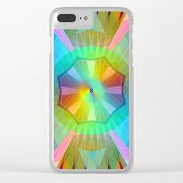 Sunday Mandala 36 Clear iPhone Case