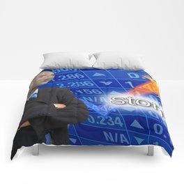 Stonks Meme Comforters