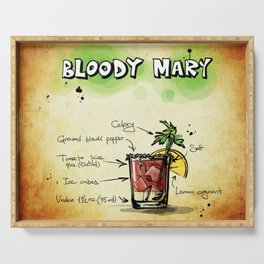 Bloody Mary Serving Tray