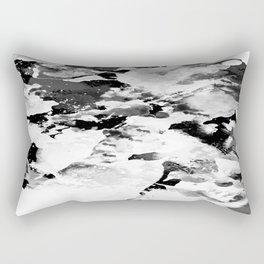 Blk Marble Rectangular Pillow