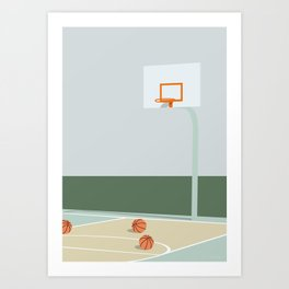 BLIV HJEMME No.02 Art Print