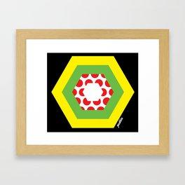 Tour de France Jerseys Framed Art Print