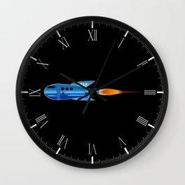 2017 Cartoon Rocket Wall Clock