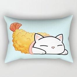 Shrimp Tempura Cat Rectangular Pillow