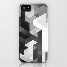 scope 2 (monochrome series) iPhone Case