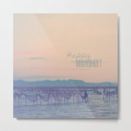Happy Monday Metal Print