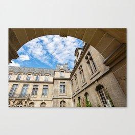 Paris Arch Canvas Print