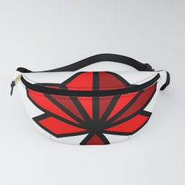 Maple Leaf Abstract Funny Nursery Cartoon Drawing Design Fanny Pack