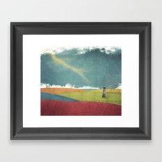 RGB Ocean Framed Art Print