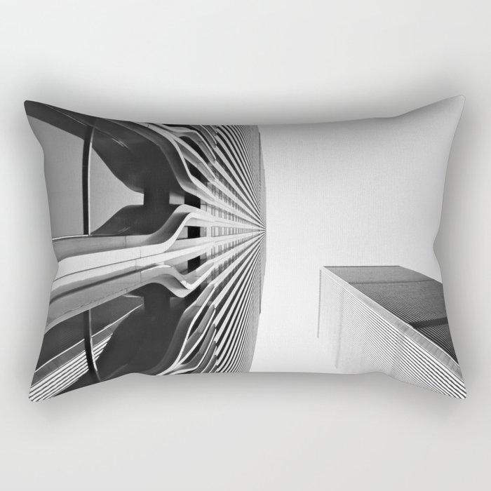World Up Rectangular Pillow