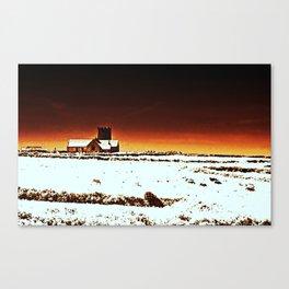 Red Church Tintagel Canvas Print
