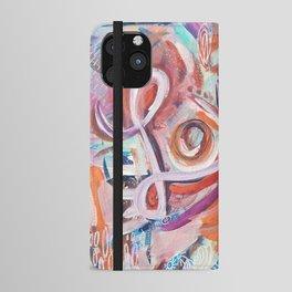 Love Grafitti iPhone Wallet Case