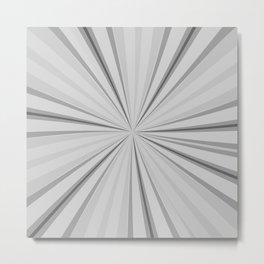 white rays Metal Print