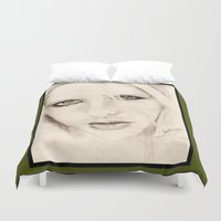 buffy Duvet Covers featuring buffy by als3