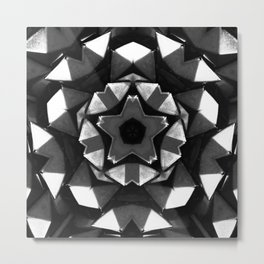 Studded Starlight Metal Print
